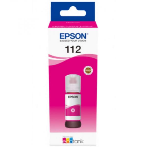 EPSON 112 PIGMENT MAGENTA INK BOTTLE [0]