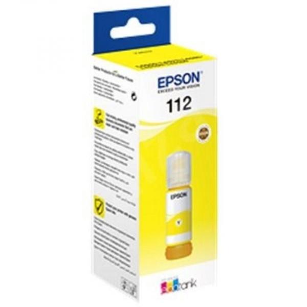 EPSON 112 PIGMENT YELLOW INK BOTTLE 0