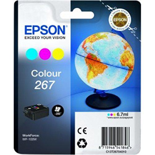 EPSON 267 COLOR INKJET CARTRIDGE 0