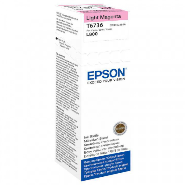 EPSON T6736 LIGHT MAGENTA INKJET BOTTLE 0