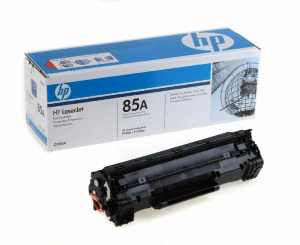 HP CE285A BLACK TONER CARTRIDGE 0
