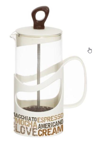 Infuzor din sticla, pentru ceai sau cafea, 1000ml 0