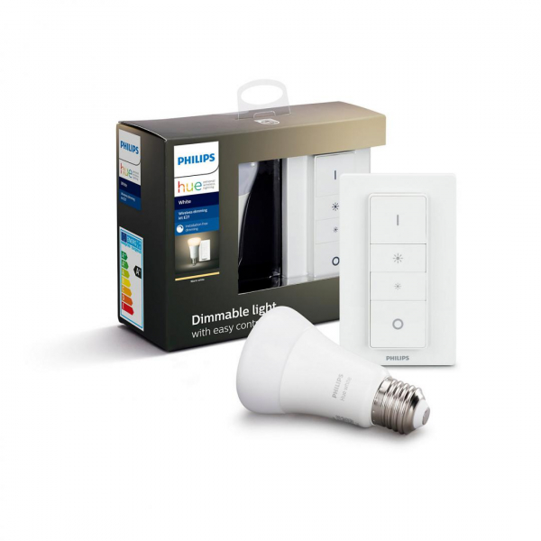 KIT PHILIPS HUE 1X BEC E27+INTRERUPATOR 0
