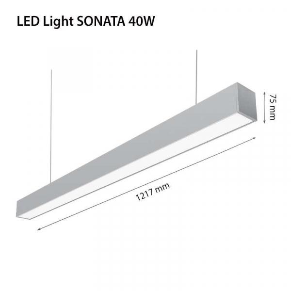 LAMPA LED 2R SONATA 3800159915241 0