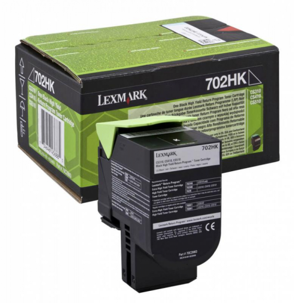 LEXMARK 70C2HK0 BLACK TONER [0]