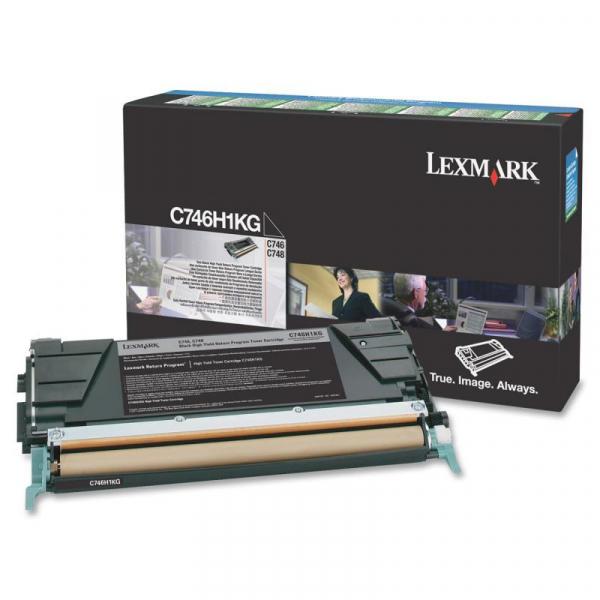 LEXMARK C746H1KG BLACK TONER 0