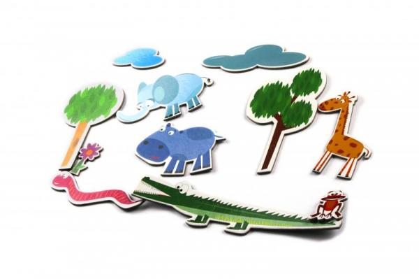 Lumea magnetilor - Lumea Junglei [2]