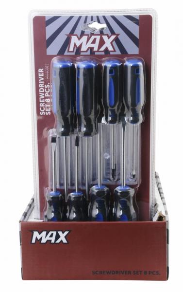 MAX Set de 8 surubelnite 1