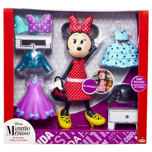 "Minnie Mouse- Set ""All the Dots"" 0"