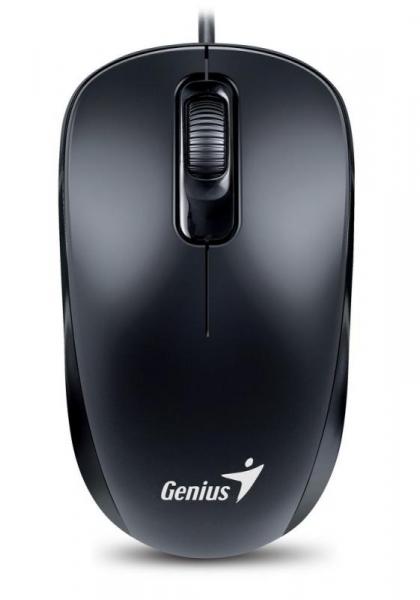 MOUSE GENIUS DX-110 BLACK USB 0