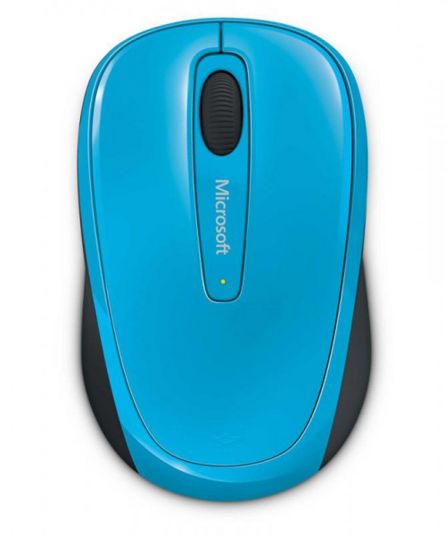 MOUSE MICROSOFT MOBILE 3500  BLUE 0
