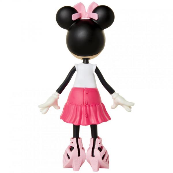 Papusa Minnie Mouse cu fundita roz 3