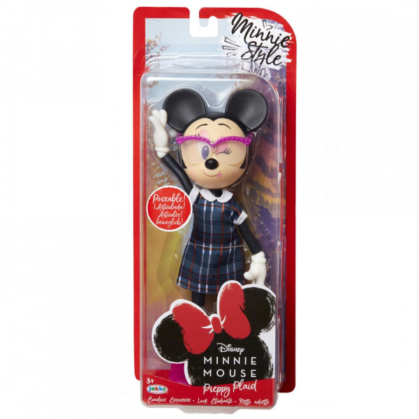 Papusa Minnie Mouse scolarita 0