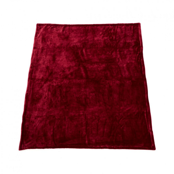 PATURA FLEECE DARK RED 127X150 CM 2
