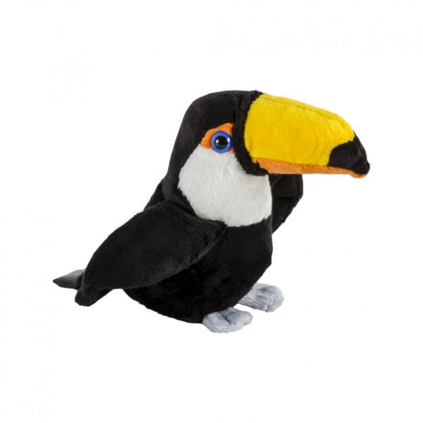 Pluș pasăre tucan, 15 cm [0]