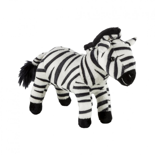 Pluș zebră, 19 cm [0]