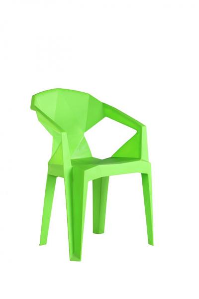 Scaun plastic Verde 1