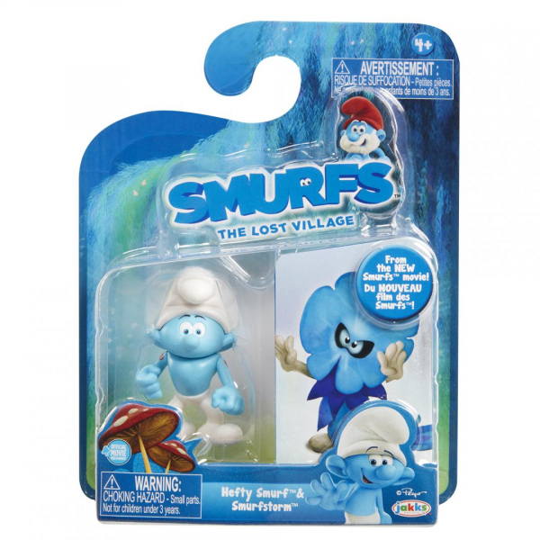 Set 2 Strumfi- Hefty Smurf si Smurfstorm [0]