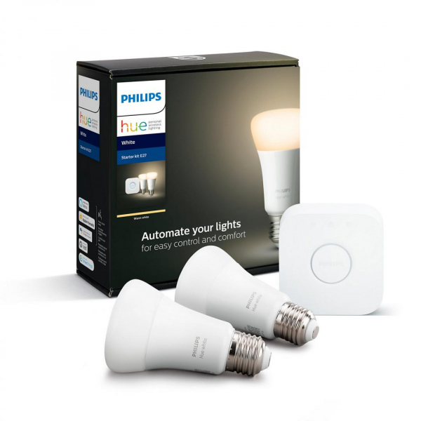 SET 2XBEC PHILIPS HUE E27 8718696785218 0
