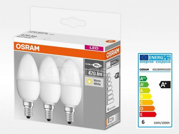 SET 3X BEC LED OSRAM 4052899955509 0