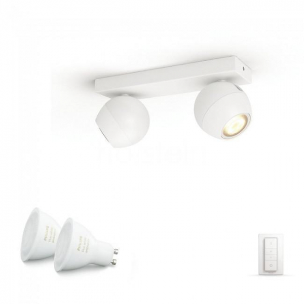 SPOT LED PHILIPS HUE BUCKRAM 2X5.5W 2