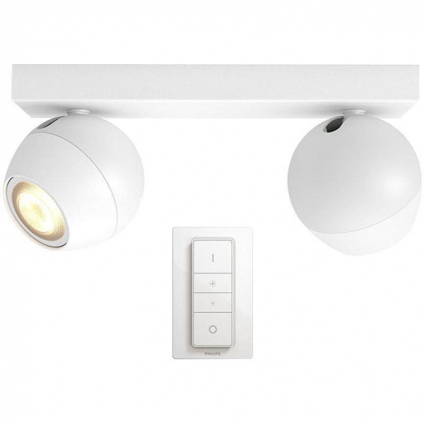 SPOT LED PHILIPS HUE BUCKRAM 2X5.5W 0