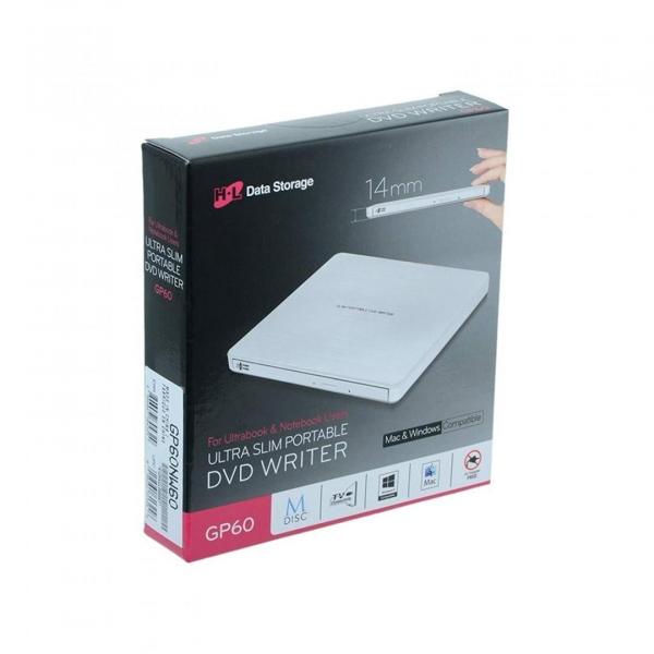 Ultra Slim Portable DVD-R White GP60NW60 0