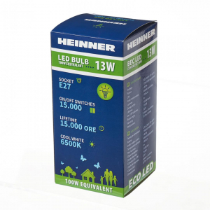 BEC LED HEINNER 13W HLB-13WE2765K21