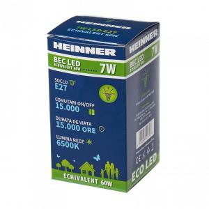 BEC LED HEINNER 7W HLB-7WE2765K1