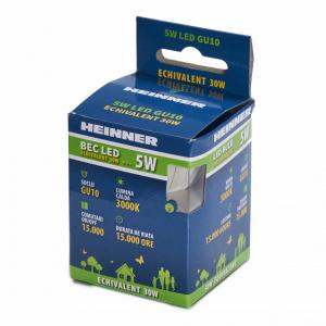 BEC LED HEINNER GU10 5W HLB-5WGU103K [2]