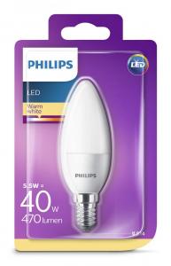 BEC LED PHILIPS E14 2700K 87186964749831