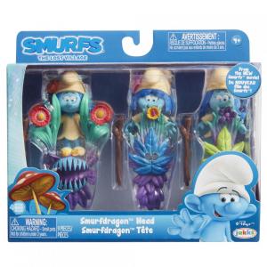 Blister Strumfi- 3 figurine cu masca si [0]