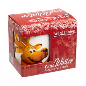 Cana portelan fin  310 ml, WINTER [7]
