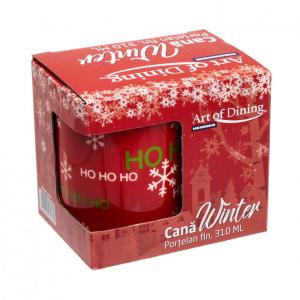 Cana portelan fin  310 ml, WINTER [5]