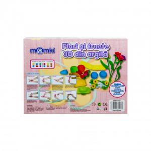 Flori si fructe 3D din argila [1]