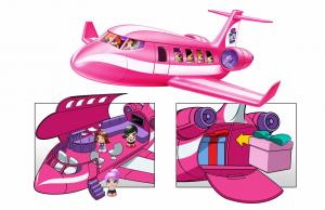 Gifts- Set de jucarii, avion [0]