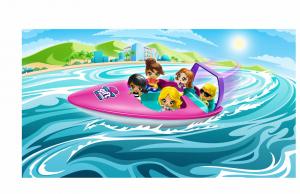 Gifts- Set de jucarii, barca de viteza [0]