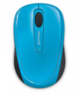 MOUSE MICROSOFT MOBILE 3500  BLUE0