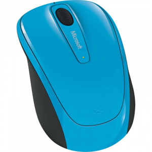 MOUSE MICROSOFT MOBILE 3500  BLUE1