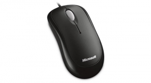 MOUSE MICROSOFT WIRED OPTIC USB BLACK [0]