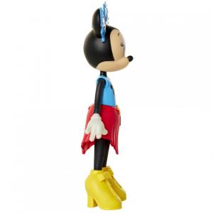 Papusa Minnie Mouse cu fundita albastră2