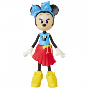 Papusa Minnie Mouse cu fundita albastră1
