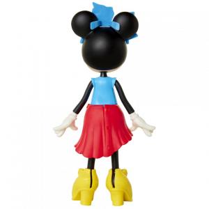 Papusa Minnie Mouse cu fundita albastră3