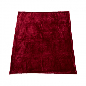 PATURA FLEECE DARK RED 127X150 CM2