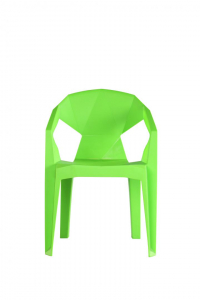 Scaun plastic Verde0