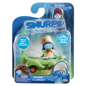 Smurflily si vehicul frunza, 5.7 cm [1]