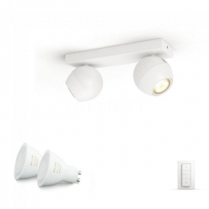 SPOT LED PHILIPS HUE BUCKRAM 2X5.5W2