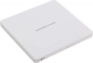 Ultra Slim Portable DVD-R White GP60NW601