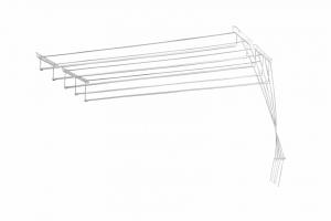 USCATOR DE RUFE METALIC 5 LINII 1,6 M1