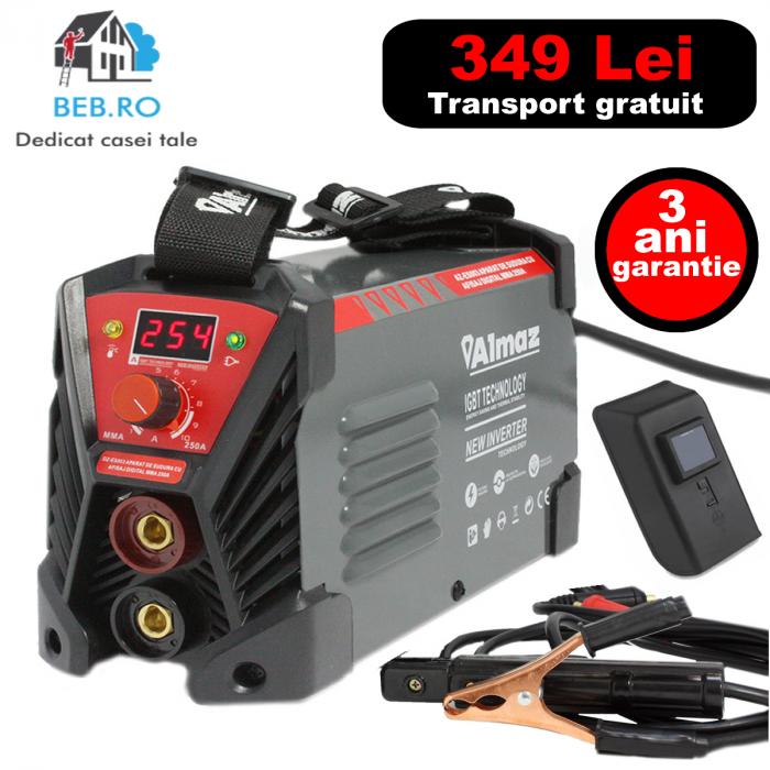 Invertor sudura Almaz 250A ES003cu afisaj electronic 0